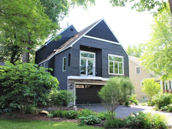 Minneapolis home remodel exterior